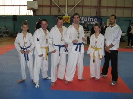 Le club de Taekwondo de Sarreguemines: championnats de lorraine à Pompey