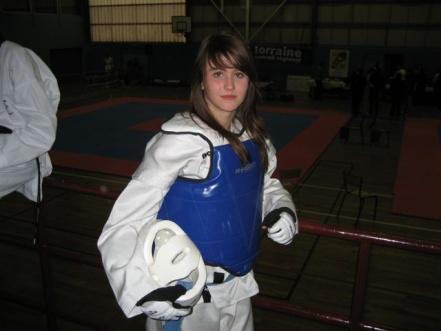Le club de Taekwondo de Sarreguemines: Manon, championne de Lorraine