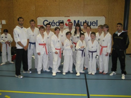 Le club de Taekwondo de Sarreguemines: Coupe du Crédit Mutuel à Strasbourg