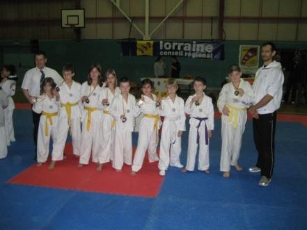 Le club de Taekwondo de Sarreguemines: coupe sélective de Pompey