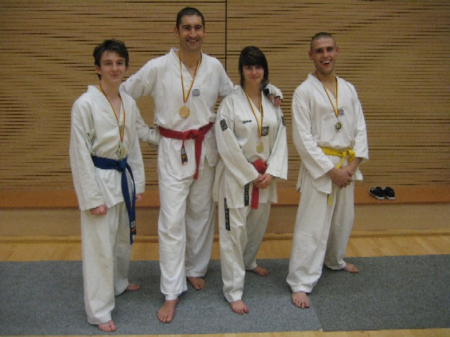 Le club de Taekwondo de Sarreguemines: championnat de Lorraine 2009