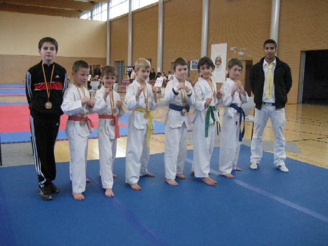 Le club de Taekwondo de Sarreguemines: nos jeunes combattants