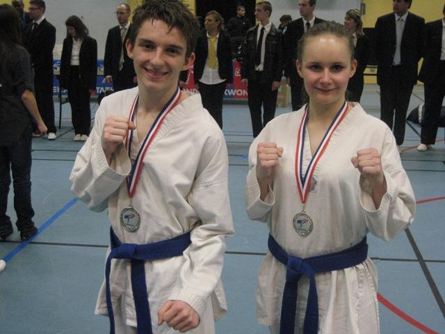 Le club de Taekwondo de Sarreguemines: La coupe de Crédit Mutuel