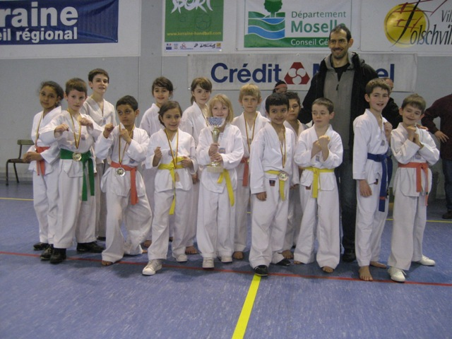 Le club de Taekwondo de Sarreguemines: Le critérium de Folschviller