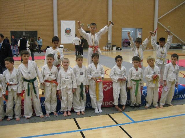 Le club de Taekwondo de Sarreguemines: le critérium de Champigneulles
