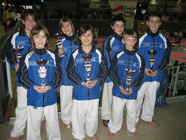 Le club de Taekwondo de Sarreguemines: L'open du Luxembourg