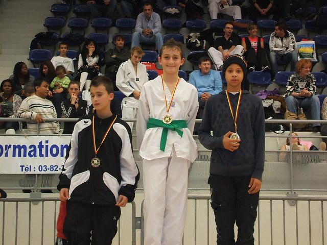 Le club de Taekwondo de Sarreguemines: L'open de Moselle