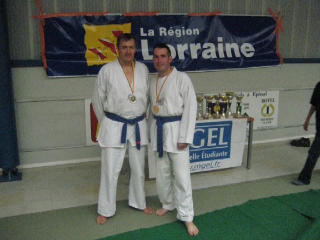 Le club de Taekwondo de Sarreguemines: l'open des Vosges 2009