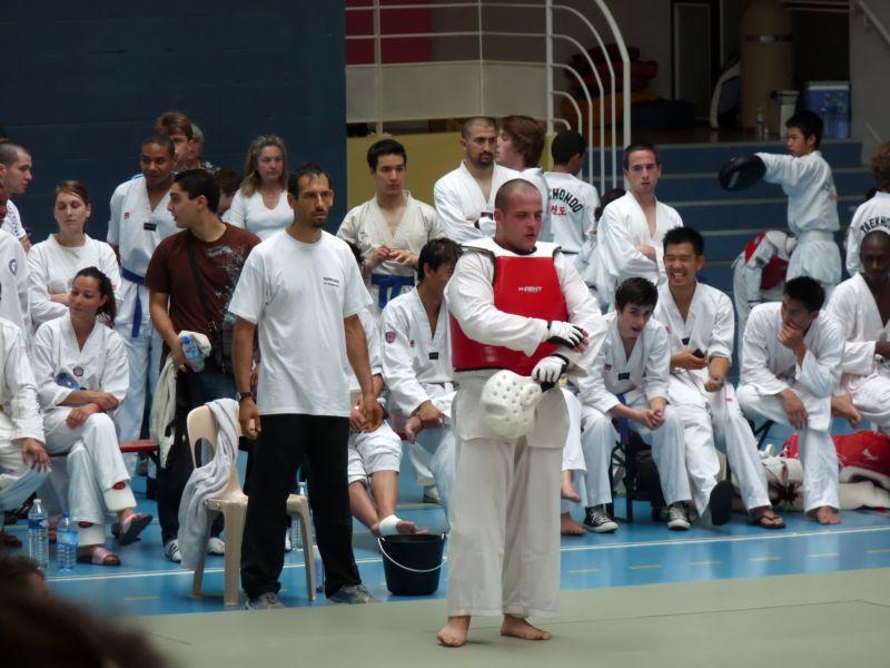 Le club de Taekwondo de Sarreguemines à Rouen