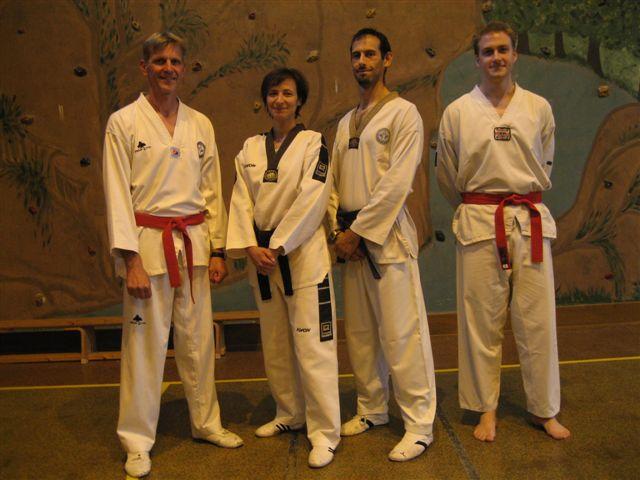Le club de Taekwondo de Sarreguemines: les encadrants