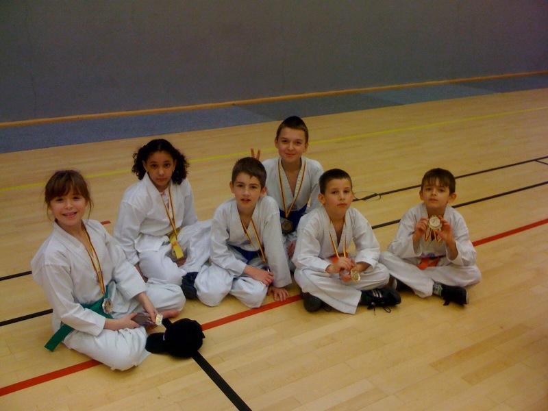 Le club de Taekwondo de Sarreguemines: Le critérium St Nicolas 2009 à Champigneulles