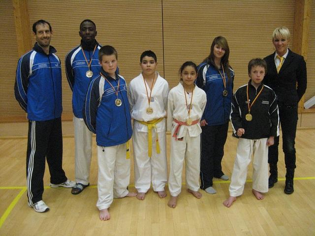 Le club de Taekwondo de Sarreguemines: Le championnat de Lorraine