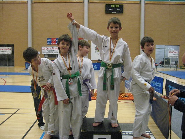Le club de Taekwondo de Sarreguemines: Le critérium saint Nicolas