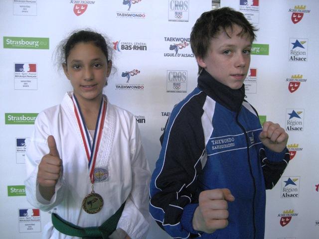 Le club de Taekwondo de Sarreguemines: L'open d'Alsace du 3 avril 2011