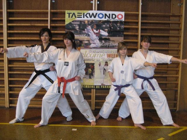 Le club de Taekwondo de Sarreguemines: La semaine de parrainage
