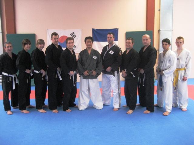 Le club de Taekwondo de Sarreguemines: Stage hapkido du 11 avril 2010