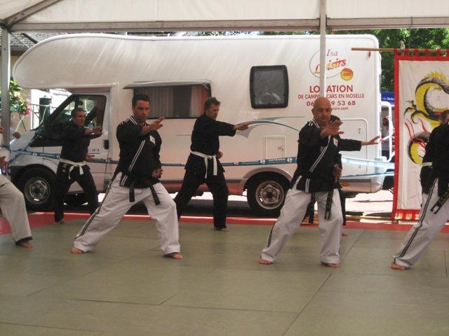 Le club de Taekwondo de Sarreguemines: La fête du sport