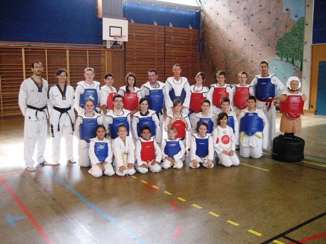 Le club de Taekwondo de Sarreguemines - Lorraine: La rentrée du club