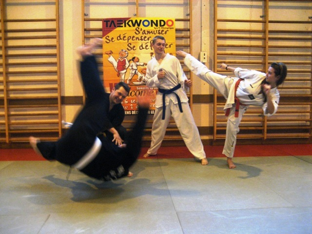 Le club de Taekwondo de Sarreguemines - Lorraine: La semaine de parrainage