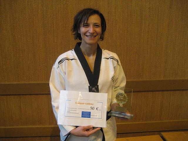Le club de Taekwondo de Sarreguemines - Lorraine: Mise à l'honneur de Maria