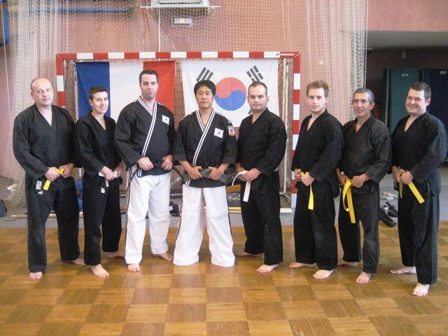 Le club de HAPKIDO de Sarreguemines: Stage Hapkido du 24 Octobre 2010