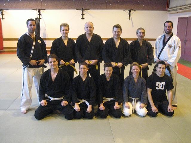 Le club de HAPKIDO de Sarreguemines: Entrainement hapkido du 06 novembre 2010