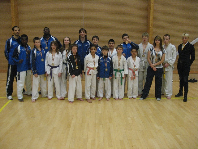 Le club de Taekwondo de Sarreguemines - Lorraine: Le championnat de Lorraine