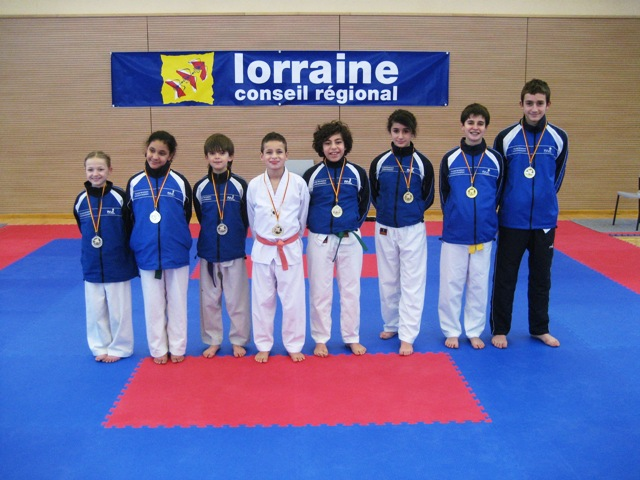 Le club de Taekwondo de Sarreguemines - Lorraine: Les championnats de Lorraine