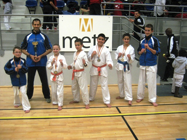 Le club de Taekwondo de Sarreguemines - Lorraine: L'open de Metz du samedi 19 novembre 2011