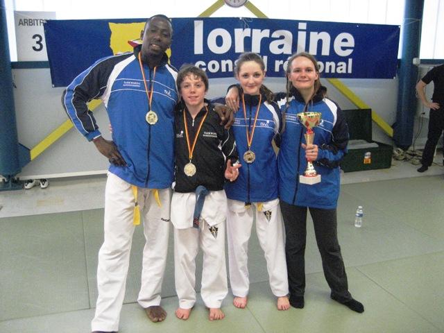 Le club de Taekwondo de Sarreguemines - Lorraine: L'open des Vosges du samedi 15 octobre 2011