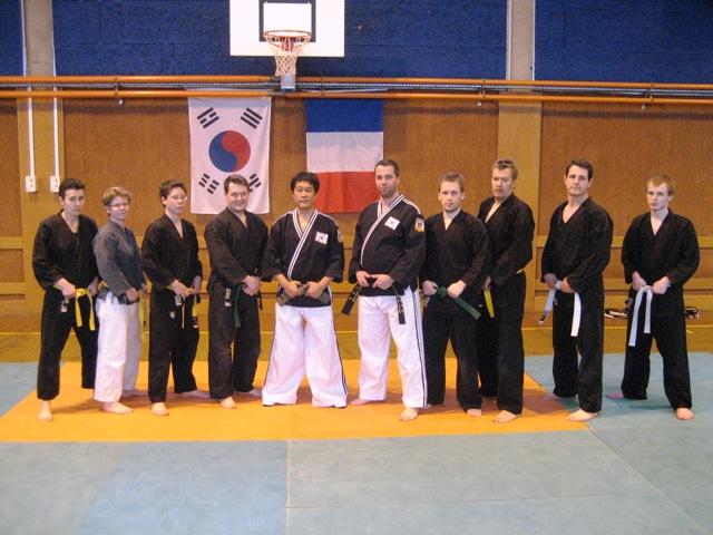 Le club de HAPKIDO de Sarreguemines: Stage Hapkido du 08 janvier 2011
