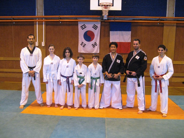 Le club de Taekwondo de Sarreguemines - Lorraine: Stage Hapkido du 08 janvier 2011