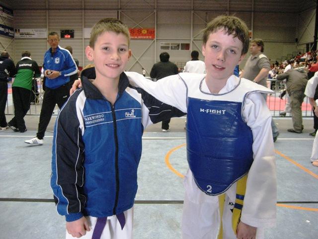 Le club de Taekwondo de Sarreguemines - Lorraine: L'open de Belgique du 6 mars 2011
