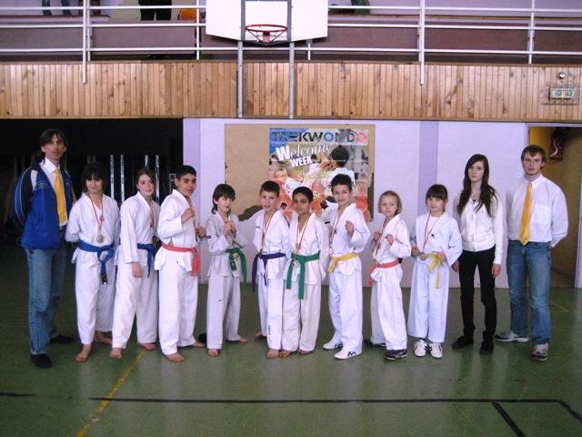 Le club de Taekwondo de Sarreguemines - Lorraine: Le critérium du 19 mars 2011