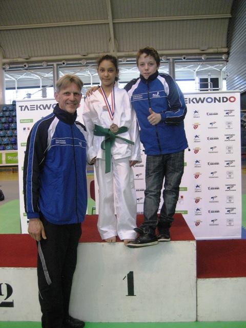 Le club de Taekwondo de Sarreguemines - Lorraine: L'open d'Alsace du 3 avril 2011