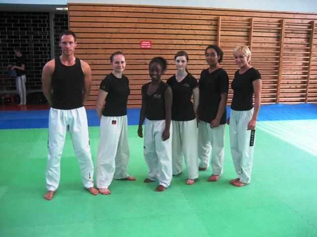 Le club de Taekwondo de Sarreguemines - Lorraine: Stage de Body Taekwondo à Strasbourg
