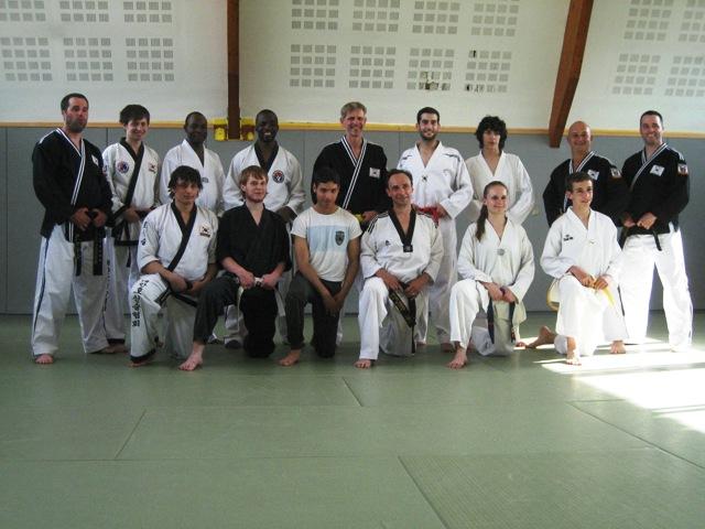 Le club de HAPKIDO de Sarreguemines: Stage d'Hapkido à Belfort 8 mai 2011