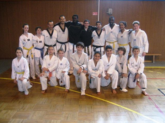 Le club de Taekwondo de Sarreguemines - Lorraine: Stage combat à valmont