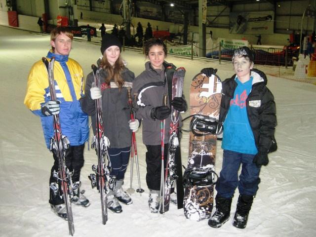 Le club de Taekwondo de Sarreguemines - Lorraine: Sortie au Snowhall