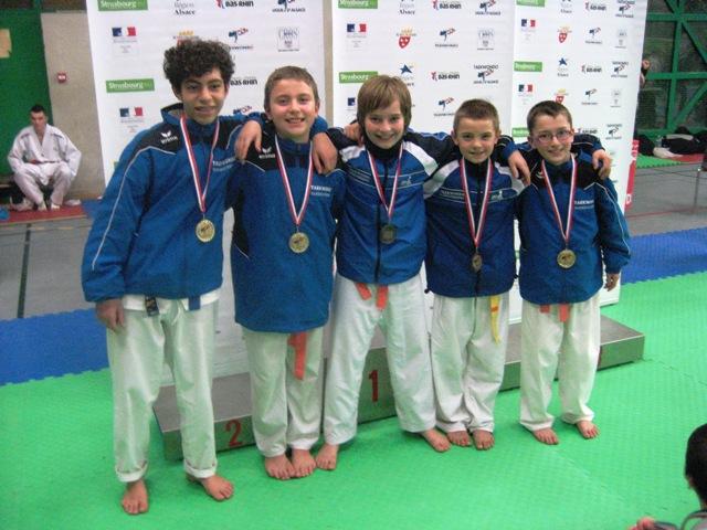 Le club de Taekwondo de Sarreguemines - Lorraine: Coupe d'Alsace