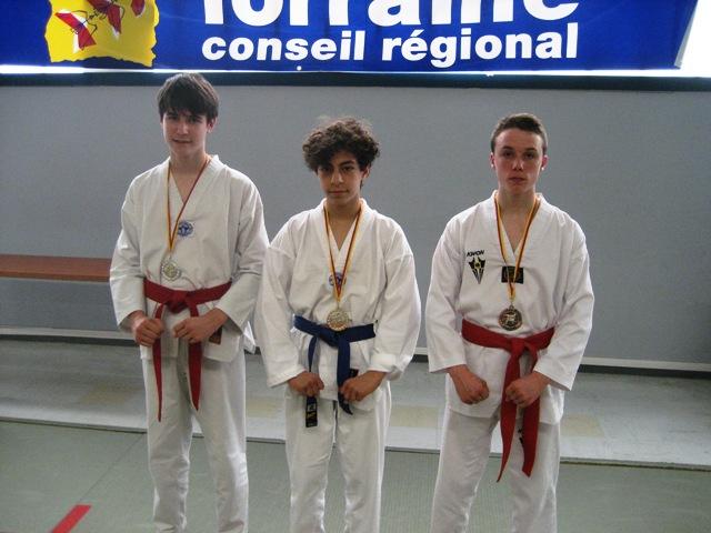 Le club de Taekwondo de Sarreguemines - Lorraine: Concours Poumsés