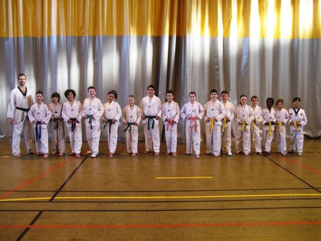 Le club de Taekwondo de Sarreguemines - Lorraine: Le Passage de grades enfants