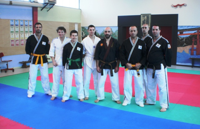 Le club de HAPKIDO de Sarreguemines - Lorraine: Stage de Kyusho-Jitsu