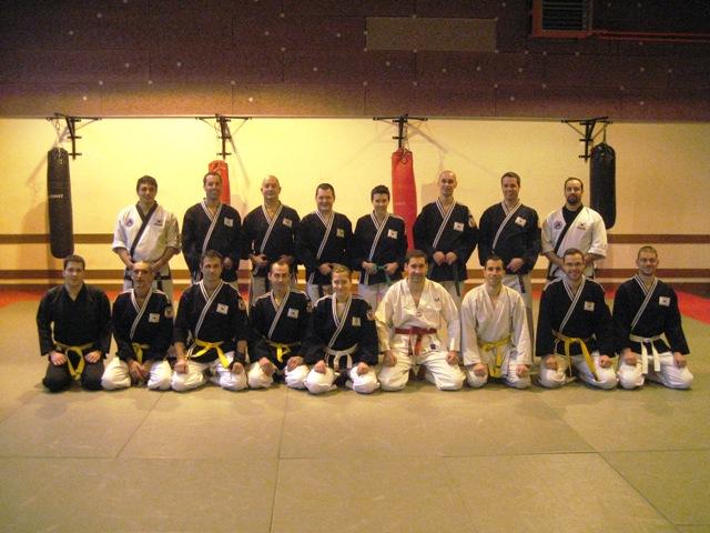 Le club de HAPKIDO de Sarreguemines - Lorraine: Entraînement commun