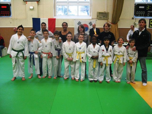 Le club de Taekwondo de Sarreguemines - Lorraine: Le critérium de Moselle à Saint-Avold