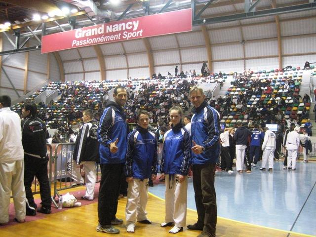 Le club de Taekwondo de Sarreguemines - Lorraine: Le championnat de France Juniors