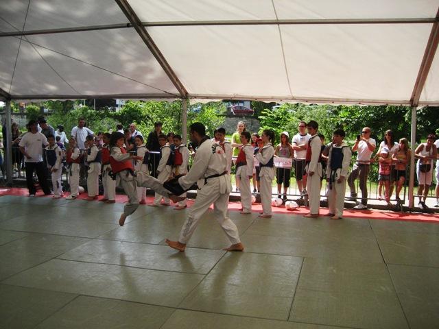Le club de Taekwondo de Sarreguemines - Lorraine: La fête du sport à Sarreguemines