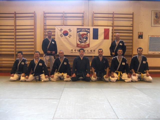 Le club de HAPKIDO de Sarreguemines - Lorraine: Le passage de grades de fin de saison