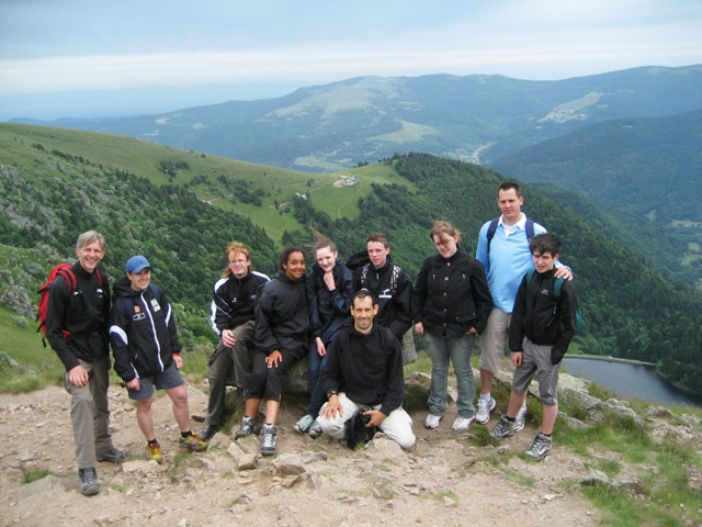 Le club de Taekwondo de Sarreguemines - Lorraine: Randonnée de fin de saison