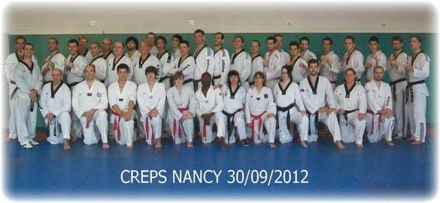 Le club de Taekwondo de Sarreguemines - Lorraine: Stage de perfectionnement